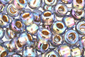TOHO Rainbow Light Sapphire (with Gold Lining) Round 6/0 Seed Bead