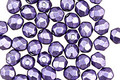 Czech Fire Polished Glass ColorTrends: Saturated Metallic Crocus Petal Round 4mm