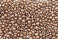 TOHO Metallic Warm Taupe Hybrid Round 11/0 Seed Bead