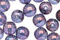 Czech Glass Luster Transparent Amethyst Round 8mm