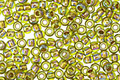 TOHO Rainbow Peridot (with Gold Lining) Round 8/0 Seed Bead