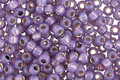 TOHO Milky Lavender (with Silver Lining) Round 8/0 Seed Bead
