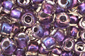 TOHO Rainbow Crystal (with Metallic Purple Lining) Round 6/0 Seed Bead