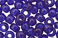 TOHO Transparent Cobalt Round 6/0 Seed Bead