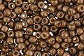 TOHO Permanent Galvanized (Matte) Medal Bronze Round 11/0 Seed Bead