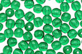 Czech Glass Green Emerald Round 4mm