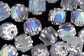 Czech Glass Crystal AB Lantern 6mm