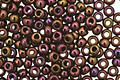 TOHO Metallic Iris Purple Round 11/0 Seed Bead