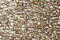 TOHO Rainbow Black Diamond (with Gold Lining) Round 15/0 Seed Bead