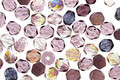 Czech Fire Polished Glass Purple Mix Round 4mm