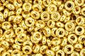 TOHO Metallic 24k Gold Demi Round 11/0 Seed Bead