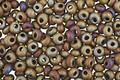 TOHO Matte Iris Brown Magatama 3mm Seed Bead