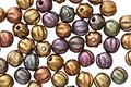 Czech Glass Autumn Metallics Mix Melon Round 4mm