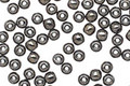 Czech Glass Hematite Round 3mm