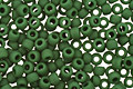 TOHO Opaque Frosted Pine Green Round 11/0 Seed Bead