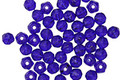 Czech Glass Cobalt English Cut Round 3mm