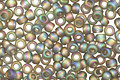 TOHO Transparent Rainbow Frosted Gray Round 11/0 Seed Bead