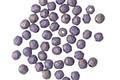 Czech Fire Polished Glass Pacifica Elderberry Round 2mm
