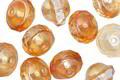 Czech Glass Honey UFO 8x10mm