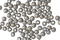 Czech Glass Pacifica Poppy Seed Round Druk 2mm