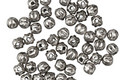 Czech Glass Antique Silver Melon Round 3mm