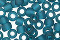 TOHO Transparent Frosted Teal Round 3/0 Seed Bead