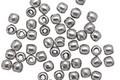 Czech Glass Metallic Silver Round Druk 3mm