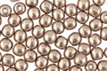 Czech Glass ColorTrends: Saturated Metallic Hazelnut Round 4mm
