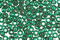 TOHO Transparent Green Emerald Round 11/0 Seed Bead