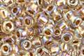 TOHO Rainbow Crystal (with Rose Gold Lining) Round 8/0 Seed Bead