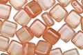 CzechMates Glass Pearl Lights Pomelo 2-Hole Tile 6mm