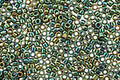 TOHO Higher Metallic Iris Green Treasure #1 Seed Bead