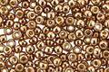 TOHO Permanent Galvanized Almond Round 8/0 Seed Bead
