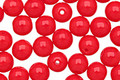 Czech Glass Opaque Red Round 6mm