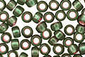 TOHO Olivine (with Frosted Silver & Pink Lining) Round 8/0 Seed Bead