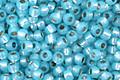 TOHO Milky Aqua (with Silver Lining) Round 11/0 Seed Bead