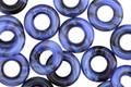 Czech Glass Denim Dreams Ring 9mm