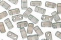 CzechMates Glass Halo Heavens 2-Hole Brick 3x6mm