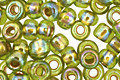 TOHO Rainbow Peridot (with Gold Lining) Round 6/0 Seed Bead
