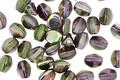 Czech Glass African Violet Pinch Bead 5x4mm