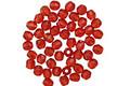 Czech Fire Polished Glass Siam Ruby Round 2mm