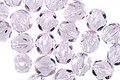 Czech Fire Polished Glass Alexandrite Round 6mm