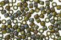 TOHO Semi-Glazed Rainbow Olive Round 8/0 Seed Bead