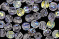 Czech Glass Crystal AB Melon Round 5mm