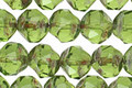 Czech Glass Olivine Picasso Chandelier Cut 8mm