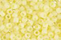 TOHO Ceylon Frosted Banana Cream Round 8/0 Seed Bead