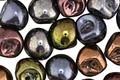 Czech Glass Autumn Metallics Teardrop 9x8mm