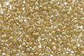 TOHO Black Diamond (with Orange Crème Lining) Round 11/0 Seed Bead