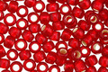TOHO Frosted Ruby (with Silver Lining) Round 6/0 Seed Bead