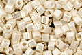 TOHO Opaque Lustered Navajo White Cube 1.5mm Seed Bead